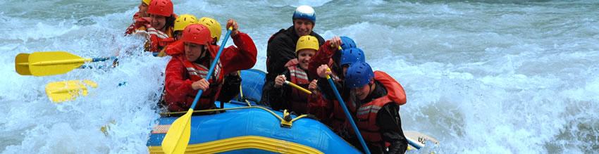 Slide: Rafting